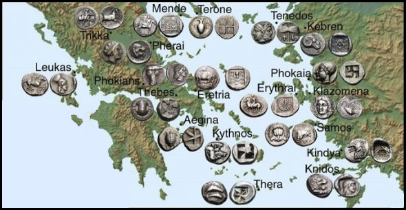 Ancient spartan trading system